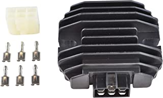 Regulator For Kawasaki Mule 300 540 620 Lakota Bayou Eliminator 600 KLR 650 KLX 250 Ninja Vulcan ZR ZZR 1991-2014 OEM Repl.# 21066-0027 21066-1089 21066-2004 21066-2070 21066-2056