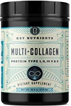 Multi Collagen Protein Powder, Keto Friendly: Types I, II, III, V & X, with Grass-Fed Beef, Chicken, Wild Fish and Eggshell Collagen Peptides, Collagen Hydrolysate, Colágeno Hidrolizado, 58 Servings