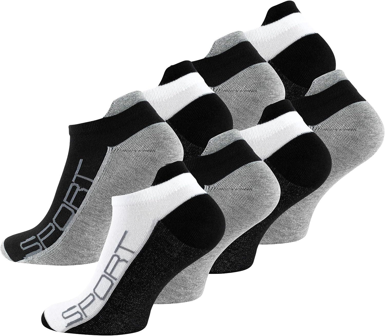 Vincent Creation 8-Pack Finally Max 45% OFF popular brand Men's Ankle N Socks Bi-Color