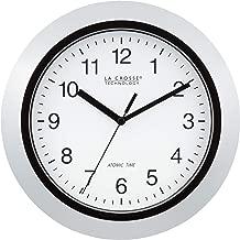 La Crosse Technology Atomic Analog Wall Clock, 10