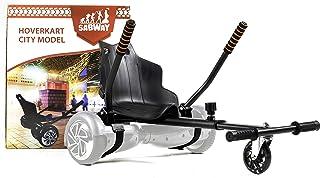 SABWAY® Hoverkart Hoverboard - Apto para Niños y Adultos