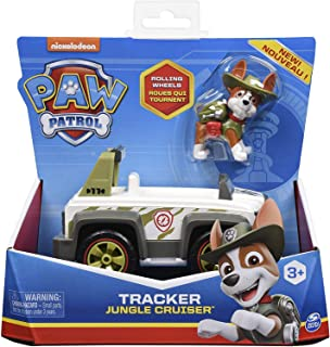 Spin Master Paw Patrol Tracker and Jungle Cruiser Vehicle
