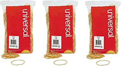 Universal 00119 Rubber Bands, Size 19, 3-1/2 x 1/16, 1lb Pack (3 Pack)