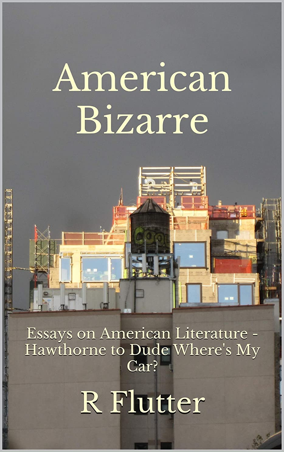 ウサギデイジー政権American Bizarre: Essays on American Literature - Hawthorne to Dude Where's My Car? (English Edition)