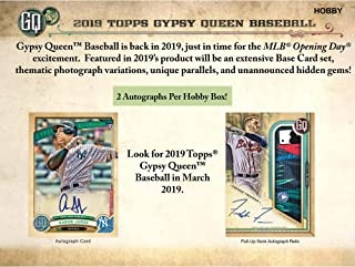gypsy queen baseball cards