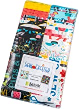 Andi Metz Sew Excited Strip-Pies 40 2.5-inch Strips Jelly Roll Benartex