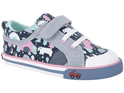 See Kai Run Kids Kristin (Toddler/Little Kid) (Navy/Snowscape) Girls Shoes
