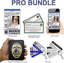 XpressID Service Dog ID PRO Bundle   Includes Registration to National Dog Registry
