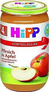 HiPP 喜宝 果泥 桃子苹果,6件装(6 x 190克)