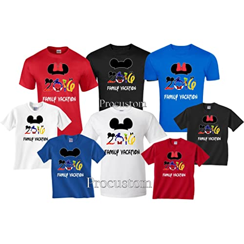 8f5a23e7f91 Disney Family Vacation Matching T-Shirts