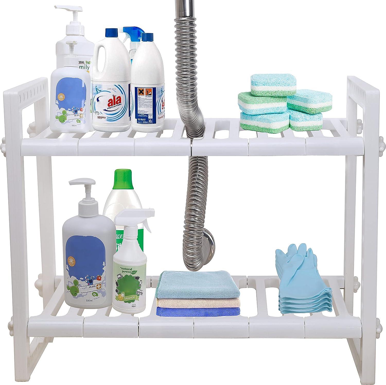 Dseap Under Sink Brand Cheap Sale Venue Organizer: Inexpensive Tier Expandable Storage 2