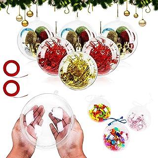 decoraci/ón Manualidades Manualidades 20 Bolas de poliestireno de 8 cm de Color Blanco para /árbol de Navidad Toyvian Boda Modelado Fiesta