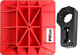 YIYITOOLS Jack Base and handle bracket,2 Piece,red & black