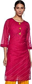 SOCH Women's Silk Straight Kurta