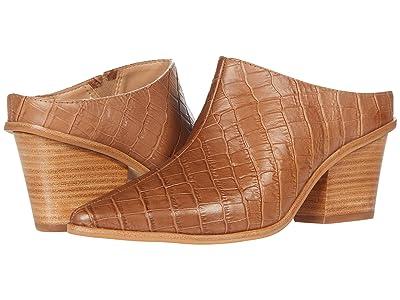KAANAS Brunello Croc Embossed Mule (Honey) Women
