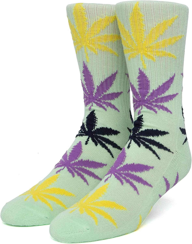 HUF Gradient Leaves Plantlife Socks - White