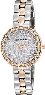 Giordano Analog Silver Dial Women's Watch- A2068-66