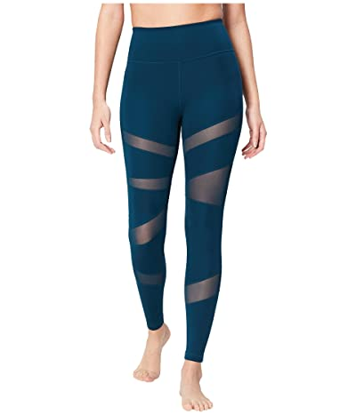 Core 10 Icon Series The Warrior Mesh Leggings (Marine) Women