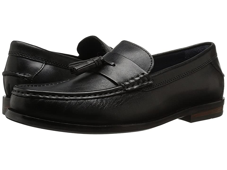 Cole Haan Pinch Friday Tassel Contemporary (Black Handstain) Men's Slip on Shoes