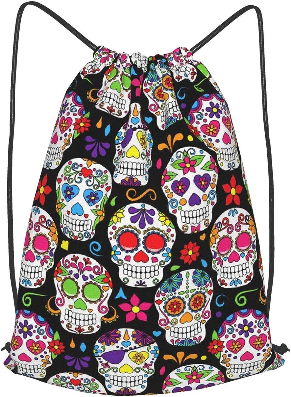 gym backpack for men large Branded goods bags supreme drawstring skull