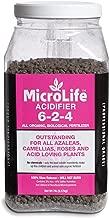 Organic Fertilizer Acidifier (For Acid Loving Plants) Professional Grade By MicroLife Granulated (6-2-4) 7 LB