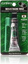 Clubman Moustache Wax Black 0.50 oz (Pack of 5)