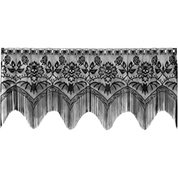 3 in 1 Sage Window Lace Valance Mantel or Lamp Shade Cover Livingroom Mantel