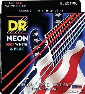 DR Strings HI-DEF NEON Electric Guitar Strings (NUSAE-9)