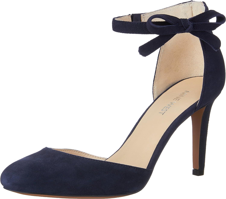 Nine West Women's Howley Ankle Strap Pump Black