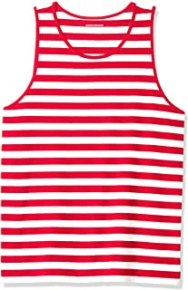 Amazon Essentials Men's Regular-fit Stripe Tank Top