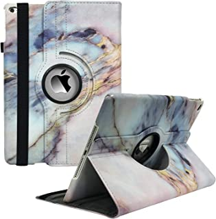 iPad Case Fit 2018/2017 iPad 9.7 6th/5th Generation - 360 Degree Rotating iPad Air Case Cover with Auto Wake/Sleep Compati...