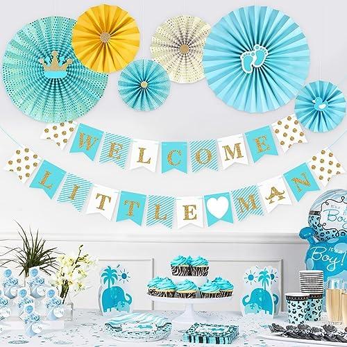 Baby Boy Baby Shower Decorations Amazon Co Uk