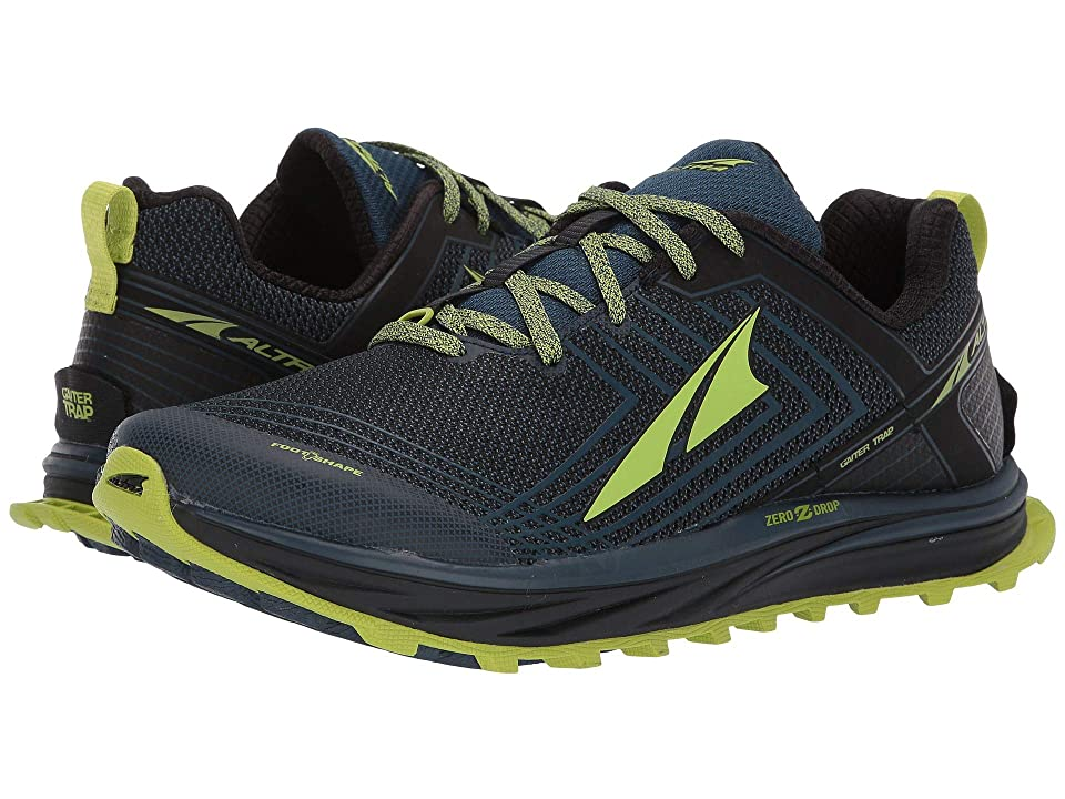 Image of Altra Footwear Timp 1.5 (Blue/Lime) Men's Running Shoes
