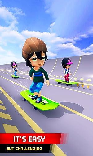 『Skater Race! Turbo Rush - Skateboard Stars Racing Game』の2枚目の画像