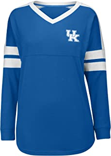 J America NCAA Kentucky Wildcats Women's Gotta Have It Cheer Tee, X-Large, Royal/White