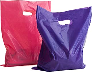 Merchandise Bags 16x18: 100 Purple and Pink 16x18