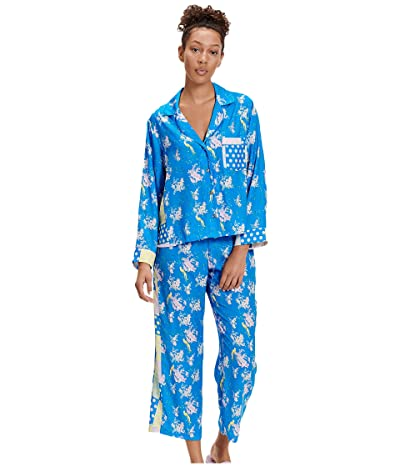 UGG Katharine Sleep Set (Blue Aster Floral) Women