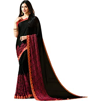Eid Collection Sari Indian/Pakistani Designer Ethnic Simple Look Saree Starwaik 31