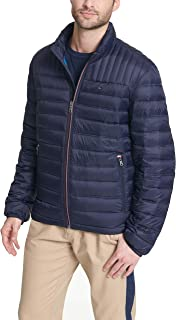 Men's Insulated Packable Puffer Jacket with Real Down