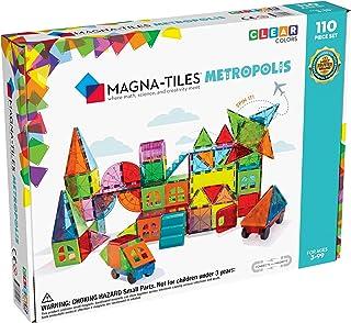 Magna Tiles Metropolis Set (110 Piece),B07WDDB59W