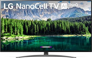 LG 49SM8600 Nano 8 Series 4K 49 inch Class Smart UHD NanoCell TV w/AI ThinQ (48.5 Diag) (Renewed)