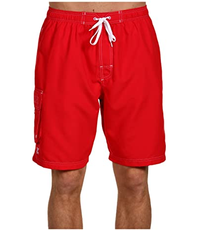 TYR Challenger Trunk (Red) Men