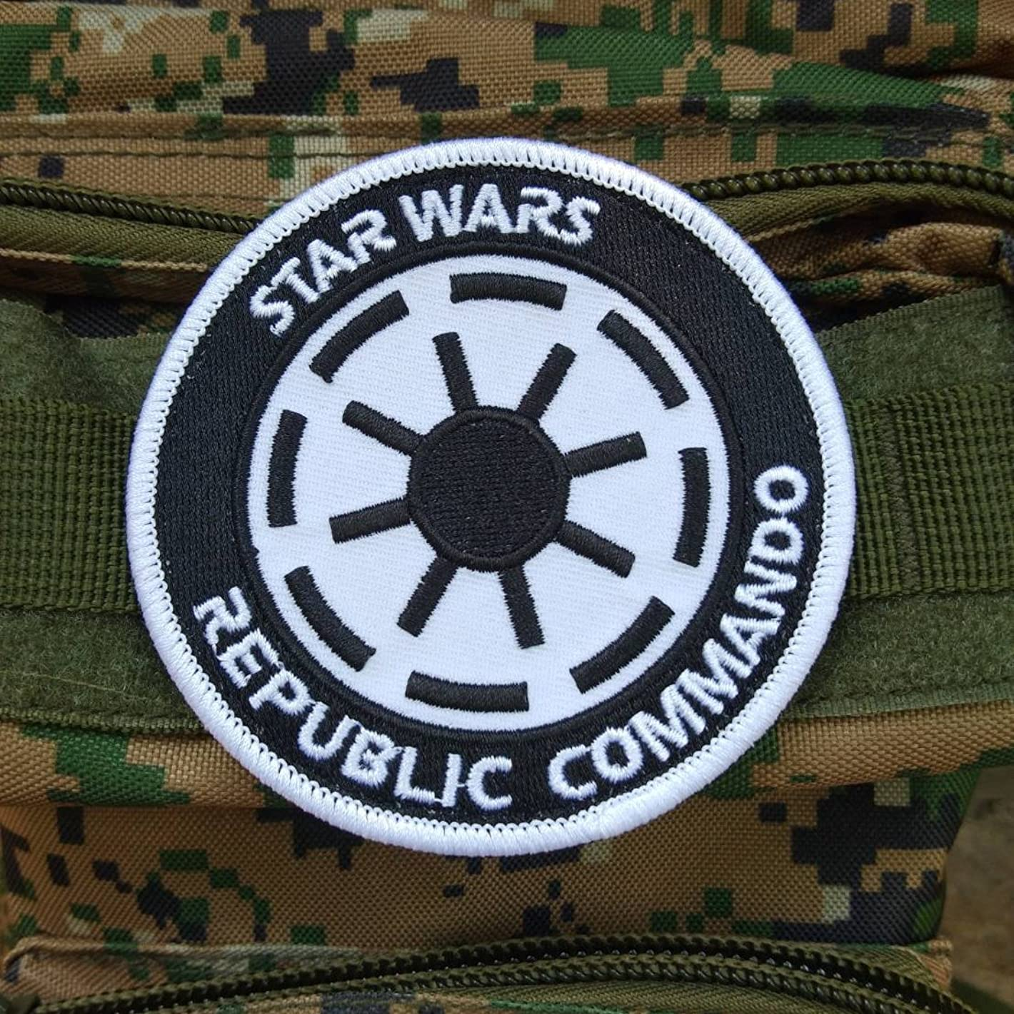 LiZMS Tactical Patch : Star Wars Republic Commando - Hook and Loop Fasteners
