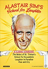 ALASTAIR SIM'S SCHOOL FOR LAUGHTER 4-Disc Blu-ray Collector's Set debuts April 21 from Film Movement
