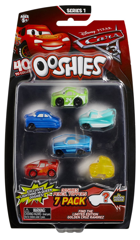 Ooshies Cars 7 Pack Asst - Wave 1: Amazon.es: Juguetes y juegos