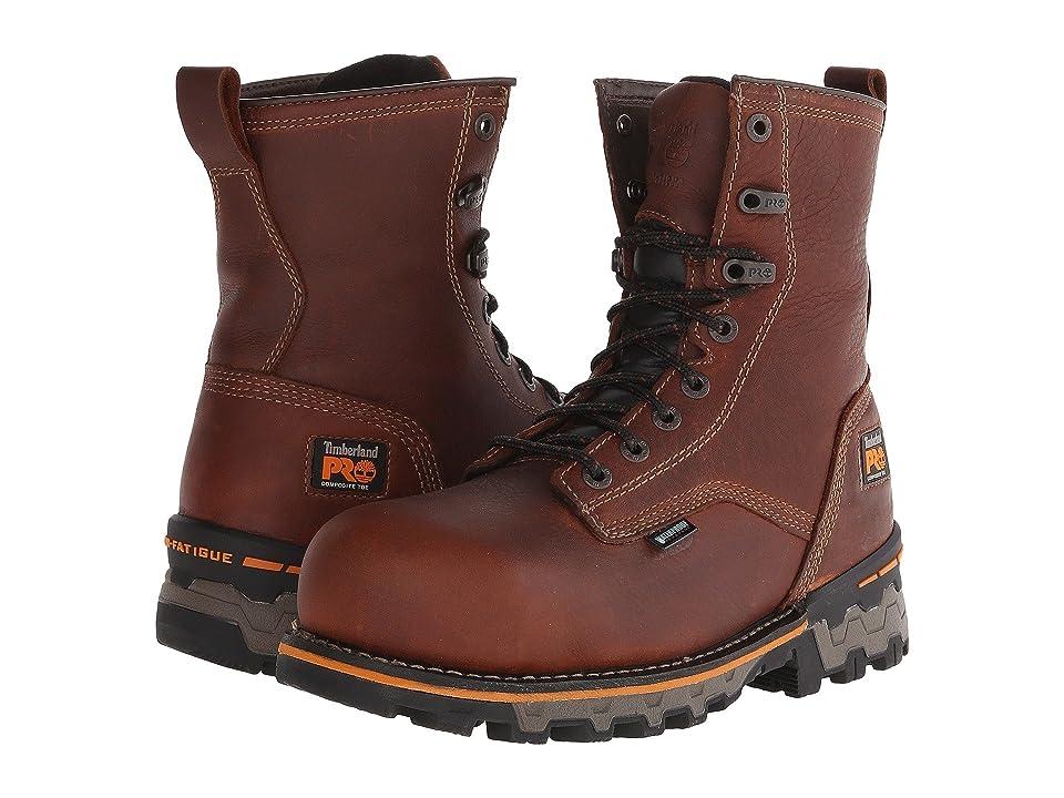 Timberland PRO 8 Boondock Comp Toe WP (Brown) Men