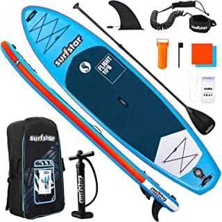 """surfstar Paddle Board, 10'6"""" x 33"""" x 6"""" Inflatable Paddle Board, Stand-Up Paddle Board for Adult with SUP Accessories, Pum..."""
