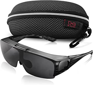 Fit Over Polarized Sunglasses Flip Up Lens for Men and Women
