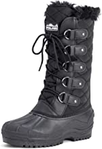 POLAR Womens Waterproof Tactical Mountain Walking Snow Knee Boots