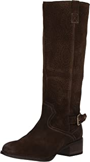 Naughty Monkey Women's Ziba Riding Boot, Dark Olive, 9 M US